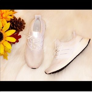 ADIDAS ULTRABOOST White Running Sneakers